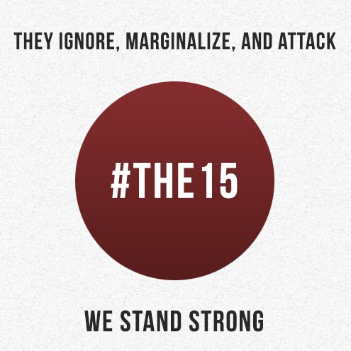 Who are #the15 ?