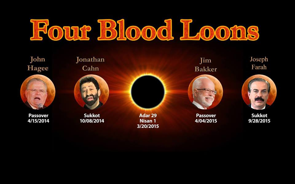 Four Blood Moons and Shemitah Bring Judgment…Upon Charismatics