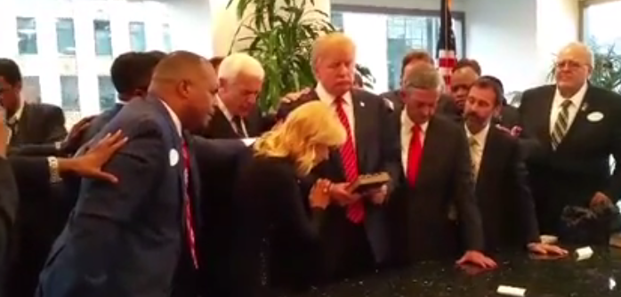 David Jeremiah, Charismatics, Rabbi, Anoint Donald Trump