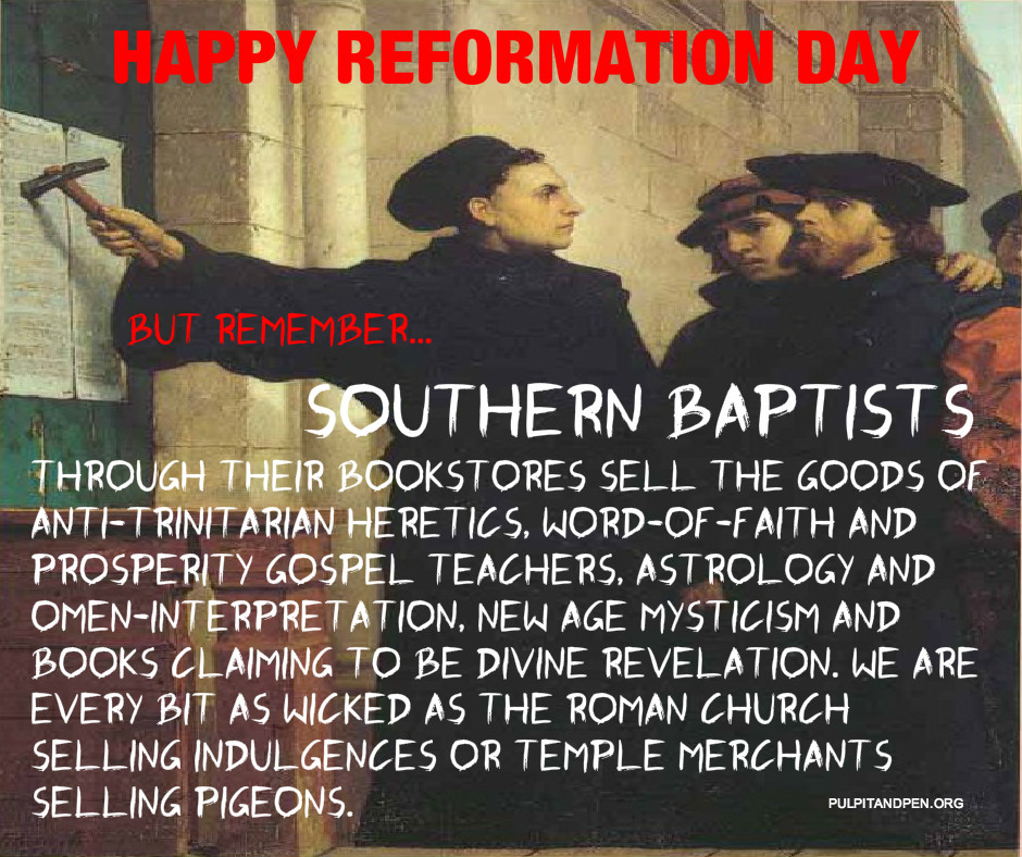 SBC Leaders Need to Sit Out This Reformation Day