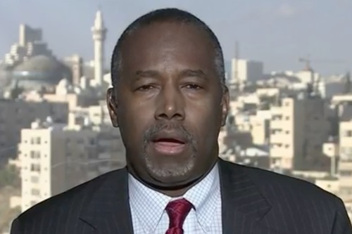 Ben Carson Thinks You Should Tone It Down