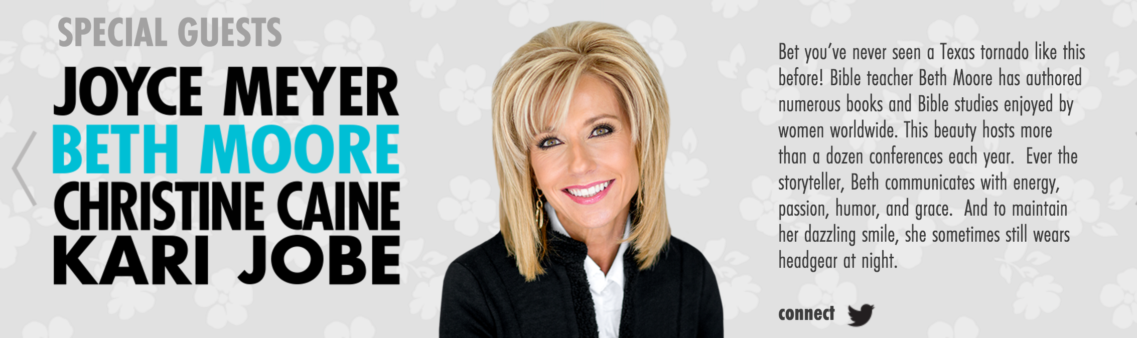 Beth Moore Teams Up With Joyce Meyer for LoveLife 2016