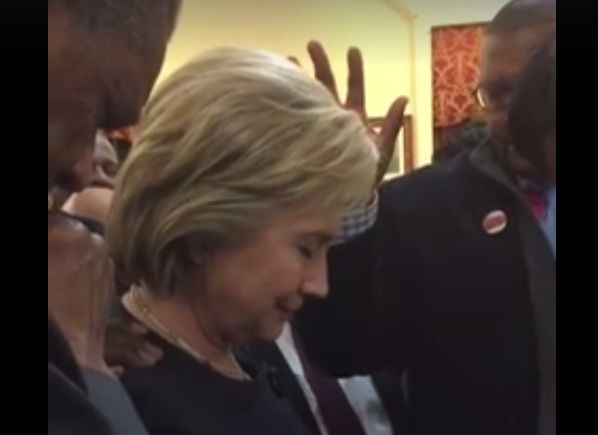 Pastors 'Decree and Declare' the Favor of the Lord on 'President to Be Clinton'