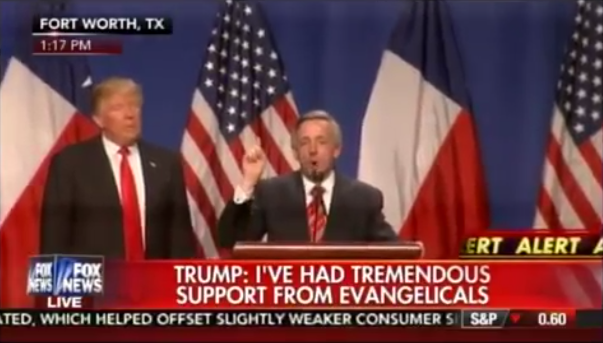 Robert Jeffress: Donald Trump Truly Pro-Life, A Real Friend in the White House!
