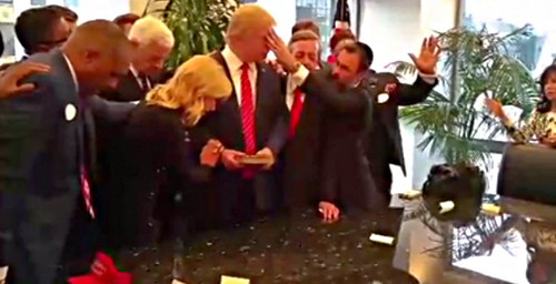 James Dobson Says False Teacher, Paula White, Led Donald Trump To Christ