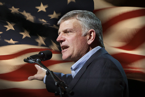The Affluent Franklin Graham and His Patriotic Scripture Twisting