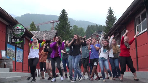 First Baptist Maryville, IL, Sends Team To Switzerland to Make Justin Timberlake Video