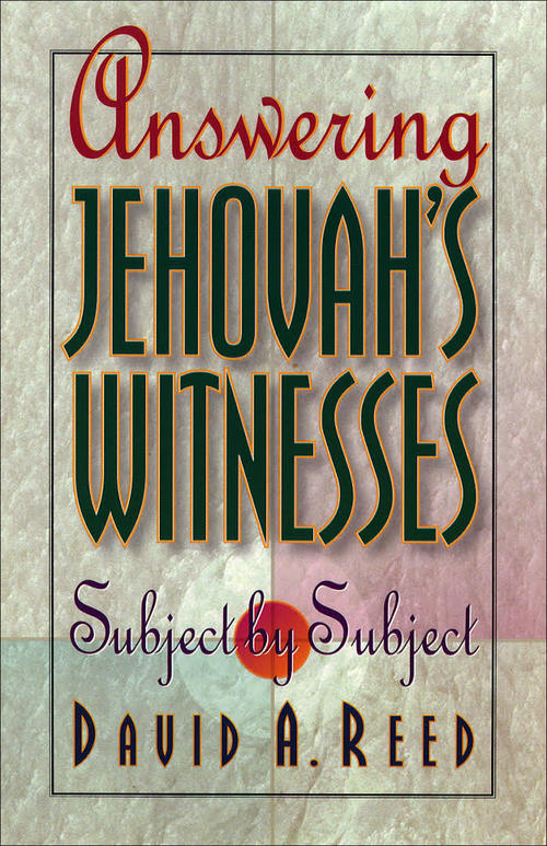 Answering Jehovah's Witnesses Subject by Subject: A Review